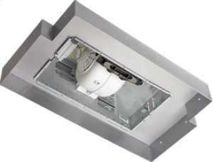 """Broan 390 CFM 20-1/2"""" wide, Custom Power Pack in Silver Paint Finish"""