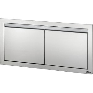 "Napoleon Grills36"" X 16"" Small Double Door , Stainless Steel"