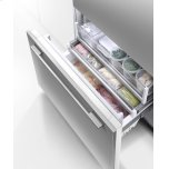 """Fisher & Paykel Integrated Refrigerator Freezer, 36"""", Ice & Water"""