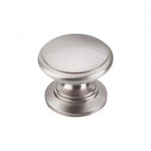 Ray Knob 1 1/4 Inch - Brushed Satin Nickel