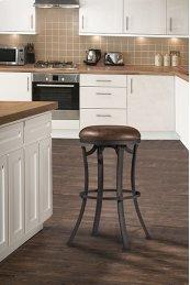 Kelford Backless Counter Stool - Textured Black