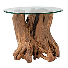 Hidden Treasures Root Ball End Table