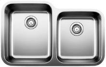 Blanco Stellar® 1-3/4 Bowl - Stainless steel refined brushed finish