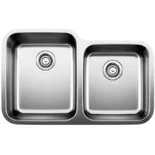 Blanco Stellar® 1-3/4 Bowl - Stainless Steel Refined Brushed Finish