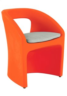 Radius Dining Chair with Seat Pad