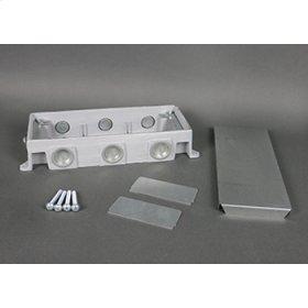 880CM3-1 - Omnibox Series Shallow Cast-Iron Floor Box