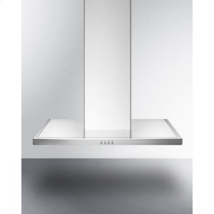 "Summit30"" European 650 Cfm Range Hood In Stainless Steel"