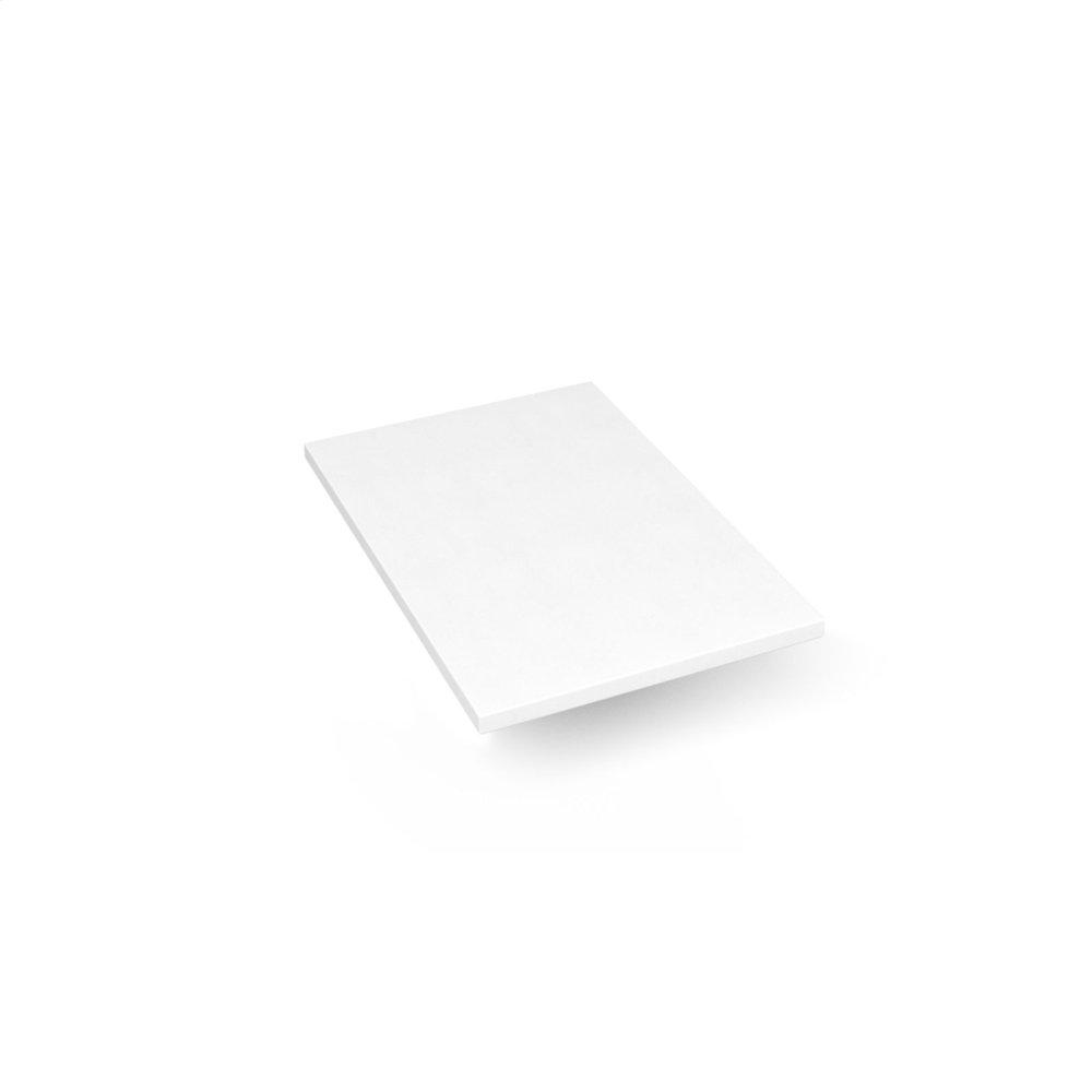 "Engineered Stone 13"" X 19"" X 3/4"" Quartz Dry Vanity Top In Quartz White"