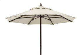 7 1/2' Powdercoat Aluminum Commercial Market Umbrella