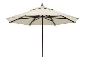 7 1/2' Powdercoat Aluminum Commercial Market Umbrella