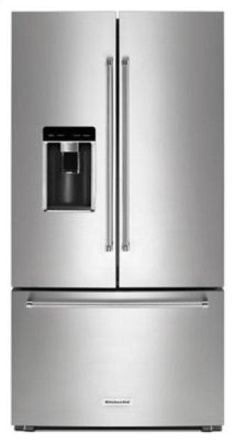 Shop Kitchenaid Refrigerators In Ma French Doors Krfc704fbs