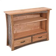 Hampton Heath 2 Drawer Bookcase Product Image