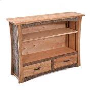 Hampton Heath 2 Drawer Bookcase Product Image