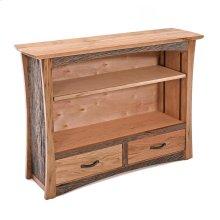 Hampton Heath 2 Drawer Bookcase