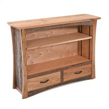 Hampton Heath 2 Drawer Bookcase