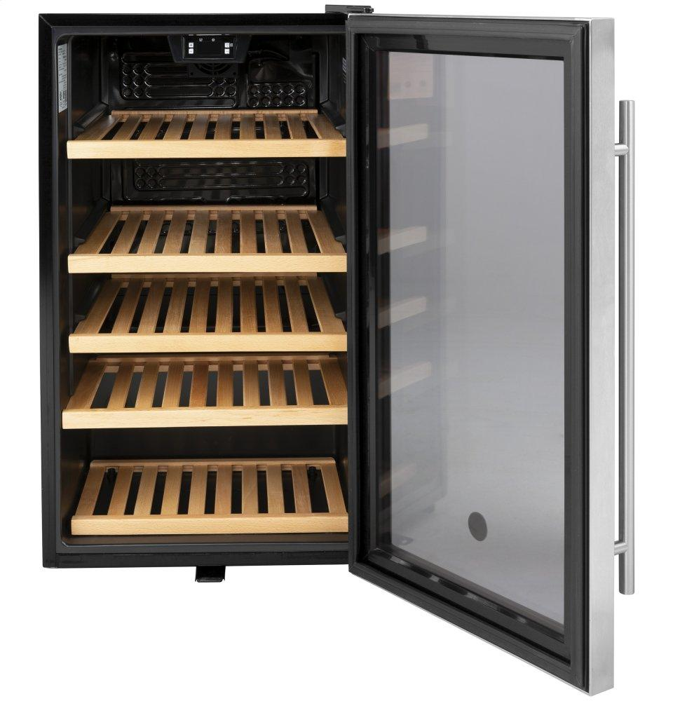 Gvs04bqnss Ge Ge 174 Beverage Center Stainless With Black