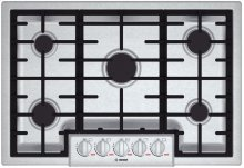 """30"""" Gas Cooktop Benchmark Series - Stainless Steel"""