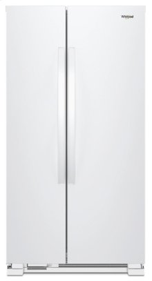[SCRATCH 'N' DENT] 36-inch Wide Side-by-Side Refrigerator - 25 cu. ft. Clearance stock is sold on a first-come, first-served basis. Please call (717)299-5641 for product condition and availability.