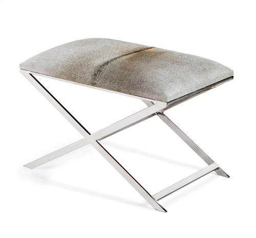 Mirren Stool - Light Grey