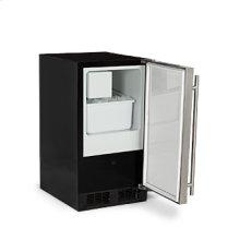 "Marvel 15"" ADA Height Crescent Ice Machine - Solid Stainless Steel Door - Right Hinge"
