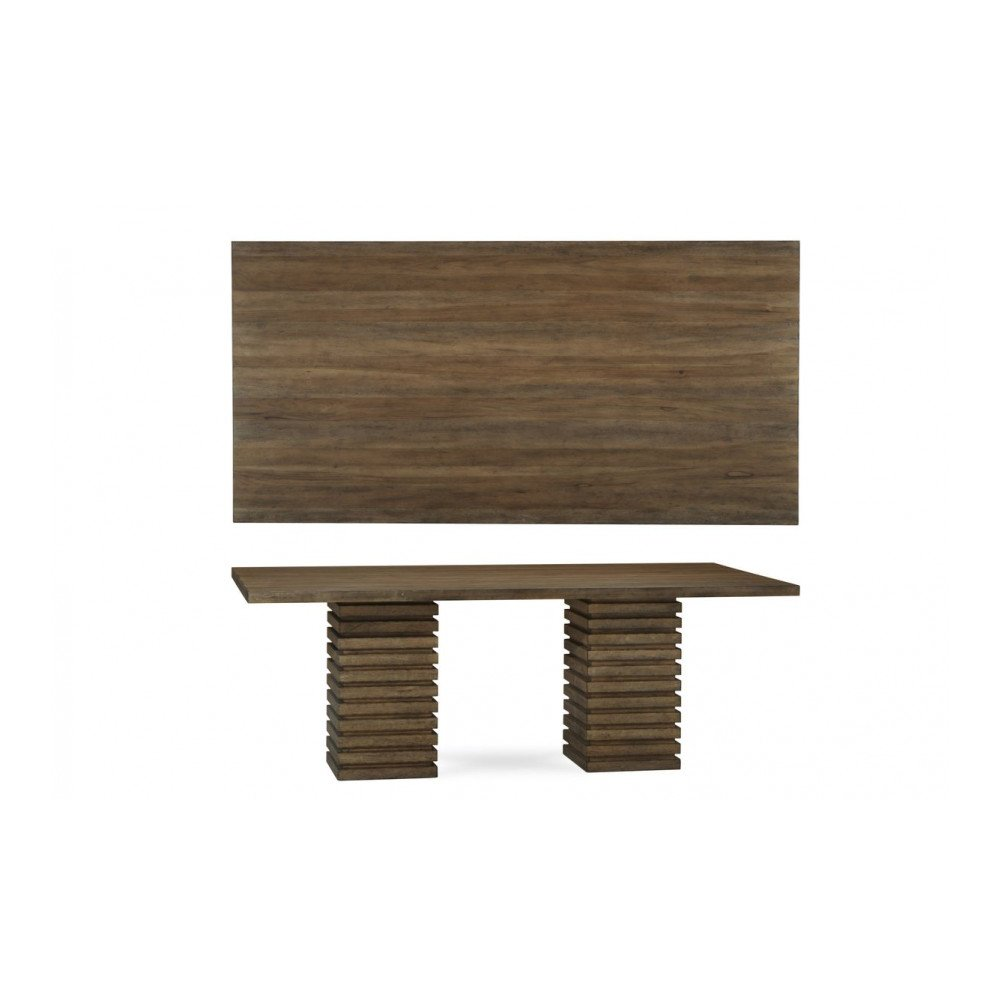 Epicenters Williamsburg Double Pedestal Dining Table