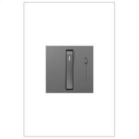 Whisper Dimmer Switch, 700W Incandescent/Halogen, Magnesium