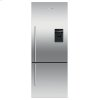 "Fisher & Paykel Freestanding Refrigerator Freezer, 25"", 13.5 Cu Ft, Ice & Water"