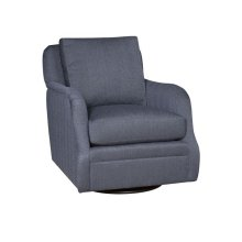Jessica Swivel Glide Chair, Jessica Ottoman