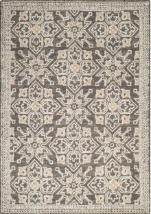 Chenille Lattice Taupe Rugs