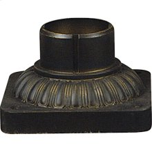Outdoor Pier Mount Accessories in Medici Bronze