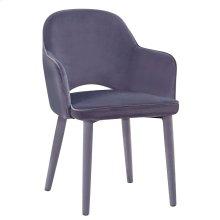 Orion Grey Velvet Chair