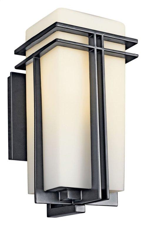 """Tremillo 14.25"""" 1 Light Wall Light Black"""