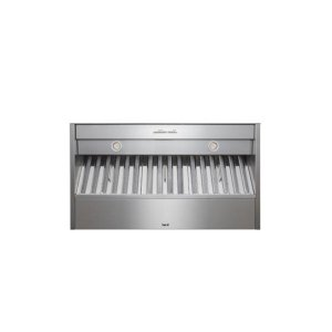 """36"""" Stainless Steel Built-In Range Hood with iQ12 Blower System, 1200 CFM"""