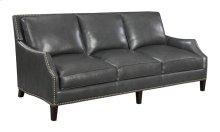 Sofa-charcoal Leather