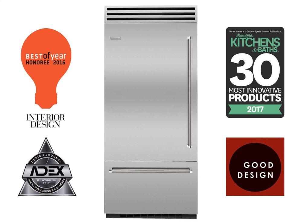 "Bluestar36"" Pro Built-In Refrigerator/freezer"