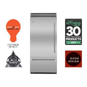 "Bluestar36"" PRO Built-In Refrigerator/Freezer"