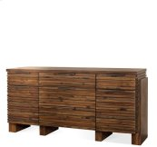 Modern Gatherings Sideboard Brushed Acacia finish