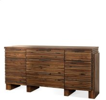 Modern Gatherings Sideboard Brushed Acacia finish