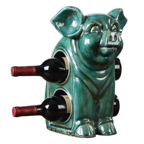 Oink, Wine Holder
