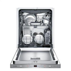 Bosch500 Pckt Hndl, 5/5 cycles, 44 dBA, Flex 3rd Rck, UR glide, InfoLight - SS
