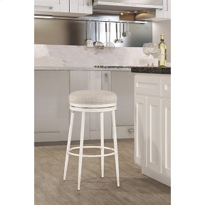 Hillsdale FurnitureAubrie Backless Swivel Bar Stool - Off White