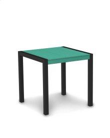 "Textured Black & Aruba MOD 30"" Dining Table"