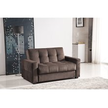 7578 Dark Brown Loveseat