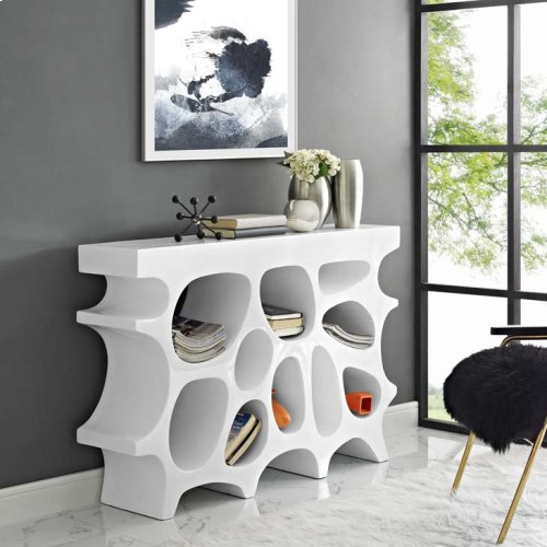 Wander Small Stand in White