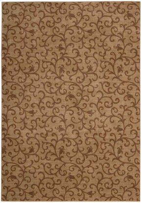 SOMERSET ST72 GOLD RECTANGLE RUG 5'3'' x 7'5''