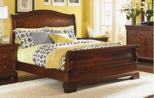 Evolution Sleigh Bed King