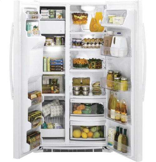 GE® 21.9 Cu. Ft. Counter-Depth Side-By-Side Refrigerator