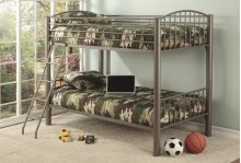 Twin/twin Sand Convertible Bunk Bed