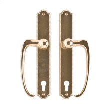"Ellis Entry Sliding Door Set- 1 3/4"" x 11"" Silicon Bronze Brushed"