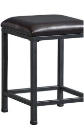 Metal Stool, W/uph Seat
